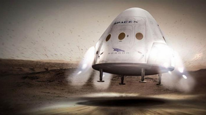 SpaceX a tutto gas verso Marte