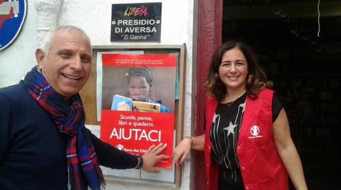 Aversa: arriva Save The Chldren
