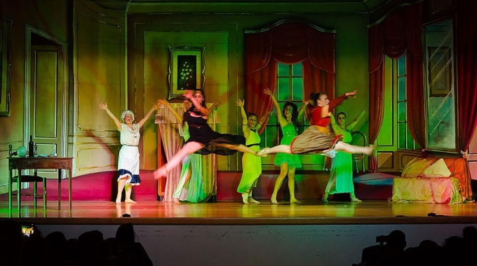 Pinocchio, the Dance story