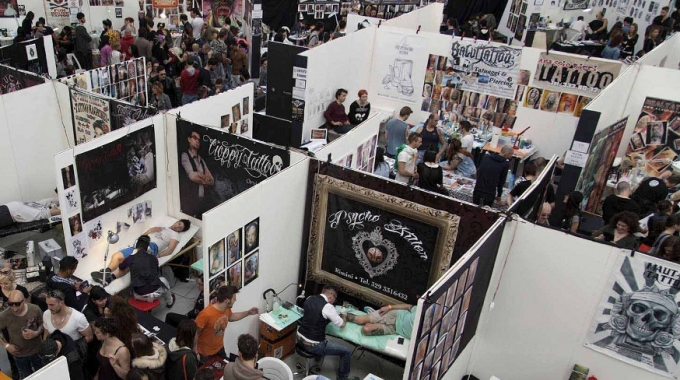 "La presentazione di ""International Tattoo Fest Napoli"""