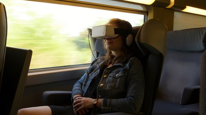 TGV Italia-Francia: Cinema immersivo a bordo