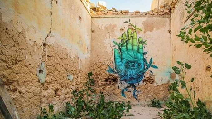 La street art in Tunisia e Djerbahood