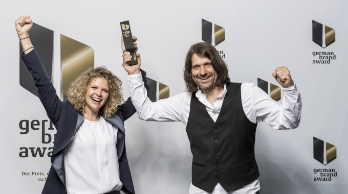German Brand Award Gold 2018