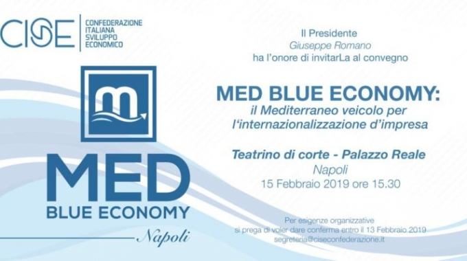 La convention Med Blue Economy
