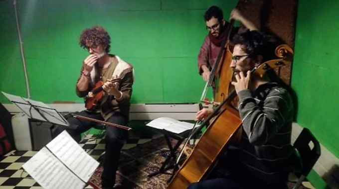 Zygrya String Trio in concerto