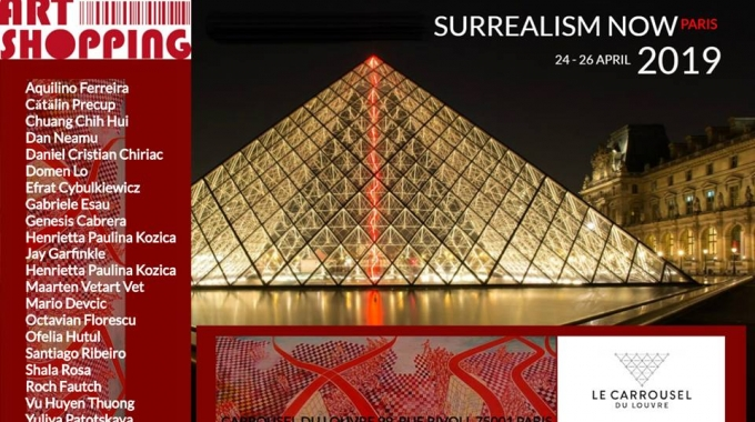 A Parigi l'esposizione dell' International Surrealism Now
