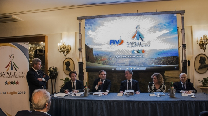 Universiade, presentati i due team della vela