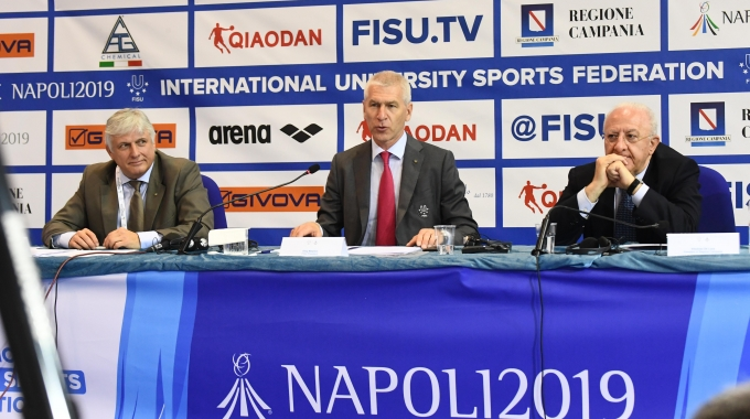 Napoli: FISU ha presentato stamattina la Trentesima Summer Universiade
