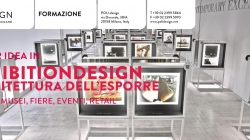 Il Master IDEA in Exhibition Design: pronta l'edizione numero XIII