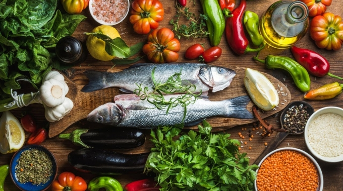 La dieta mediterranea in cima alla classifica