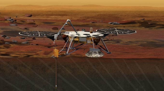 La NASA annuncia InSight per il 2018