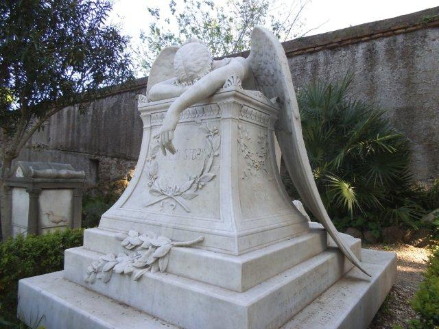 The Non Catholic Cemetery: a journey into the past of famous names and wonderful works of art